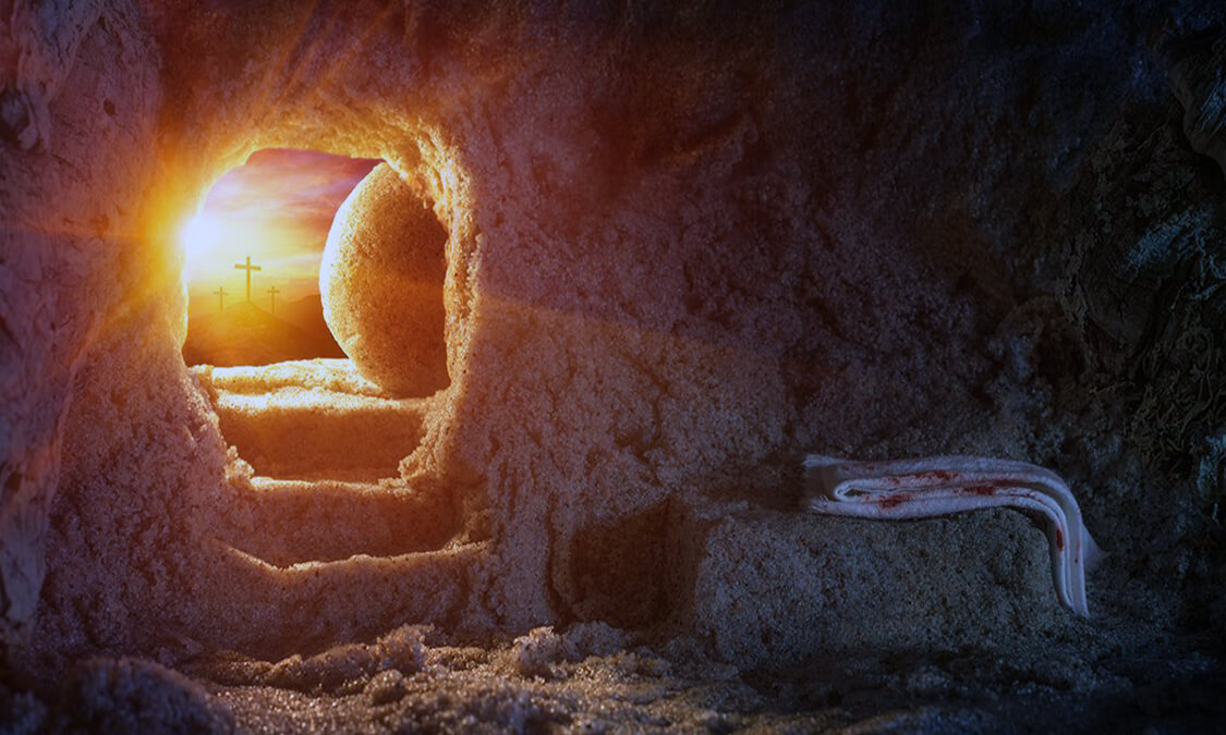 Jesus defeated the death